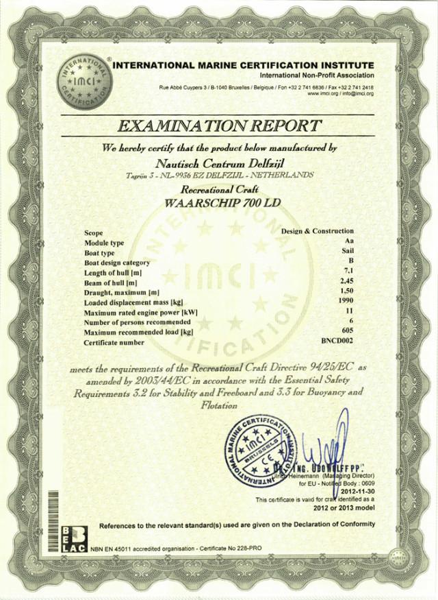 CE-B certificaat