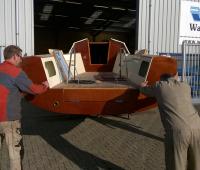 Nieuw Waarschip 1010LD in aanbouw