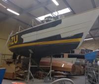 Reparatie Waarschip1220 bijna afgerond