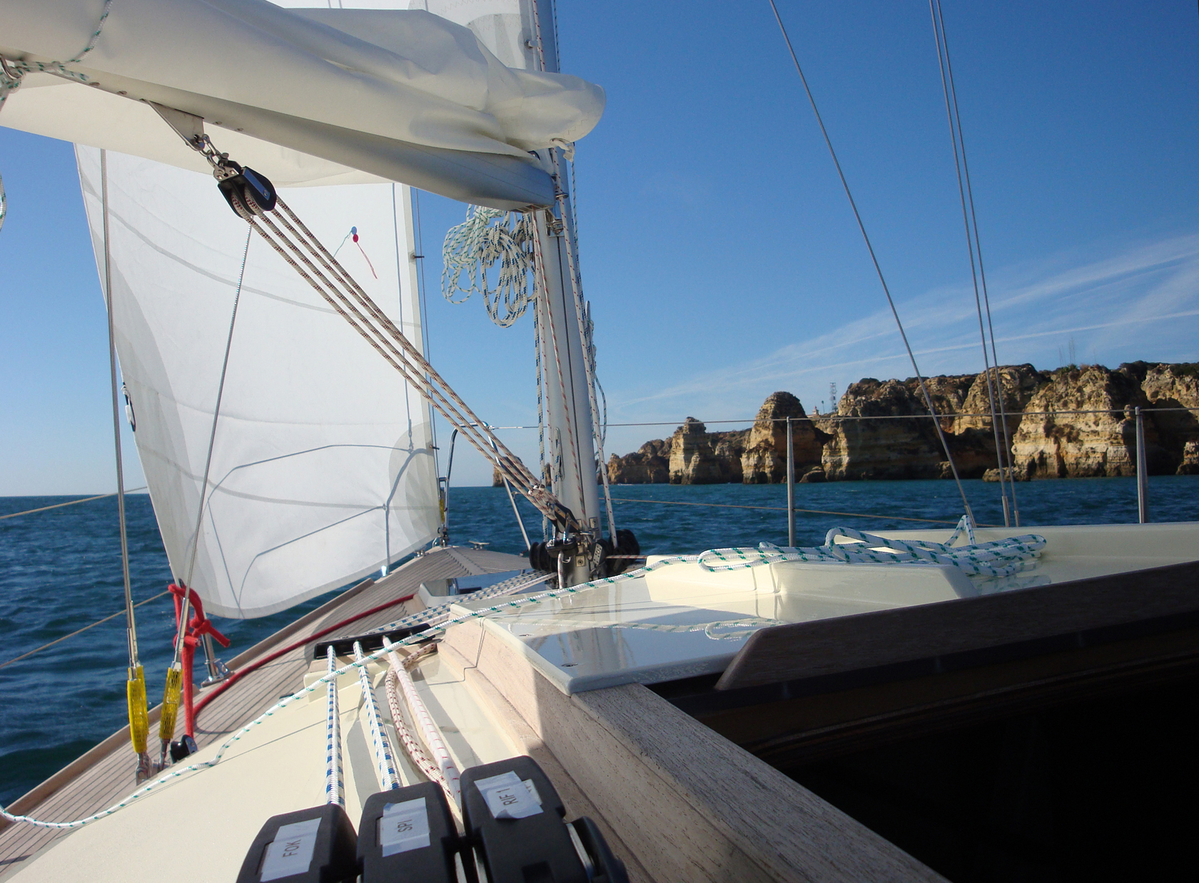 Waarschip 30 CR sailing