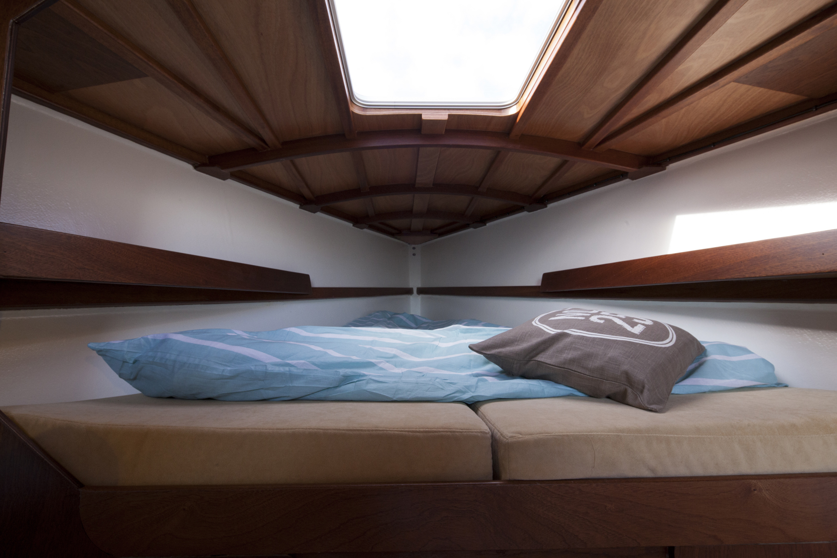 Waarschip 30 CR slaapkamer