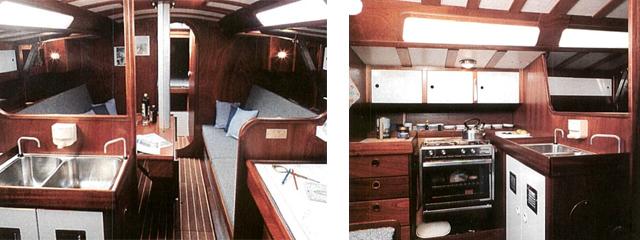 Waarschip 36 interior