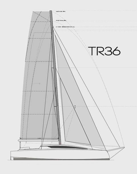 Waarschip TR 36 Trimaran